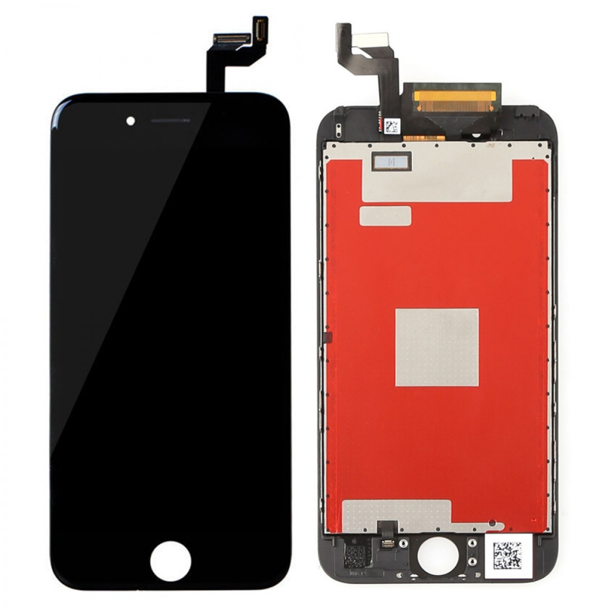 LCD DISPLAY + TOUCH SCREEN VETRO NERO BLACK APPLE IPHONE 6S COMPATIBILE