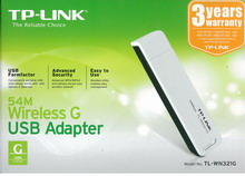 ADATTATORE USB WIRELESS TP-LINK TL-WN721N