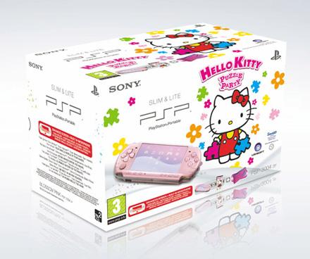 PSP HELLO KITTY SONY 3004