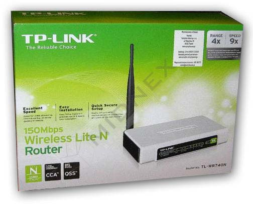 150 Mbps WIRELESS N ROUTER TP-LINK TL-WR740N