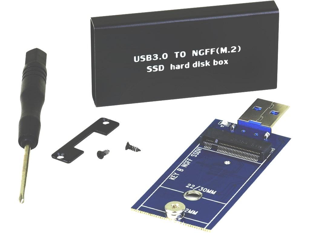 ADATTATORE USB 3.0  TO NGFF SDD UNIVERSALE